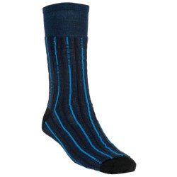 SmartWool Broken Pinstripe Socks - Merino Wool, Crew (For Men and Women)