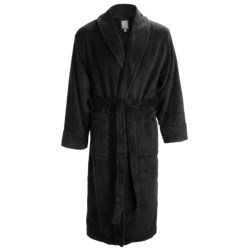 Daniel Buchler Wave Belted Plush Robe - Shawl Collar, Long Sleeve (For Men)