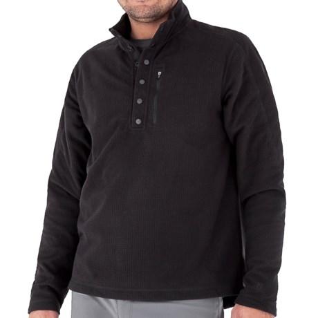 Royal Robbins Textured Fleece Shirt - UPF 50+, Snap Mock Neck, Long Sleeve (For Men)