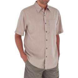Royal Robbins Pecos Plaid Shirt - Short Sleeve (For Men)