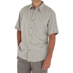 Royal Robbins Austin Cotton Plaid Shirt - Short Sleeve (For Men)