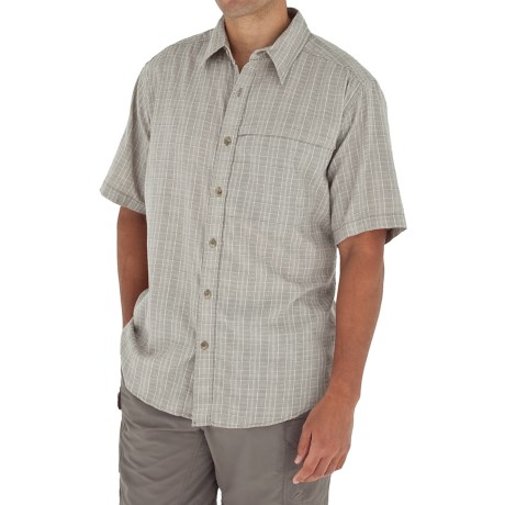 Royal Robbins Austin Cotton Plaid Shirt - Short Sleeve (For Men)