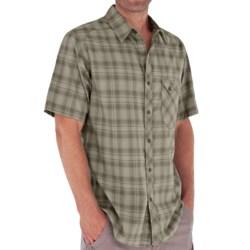 Royal Robbins Paragon Plaid Shirt - Short Sleeve (For Men)