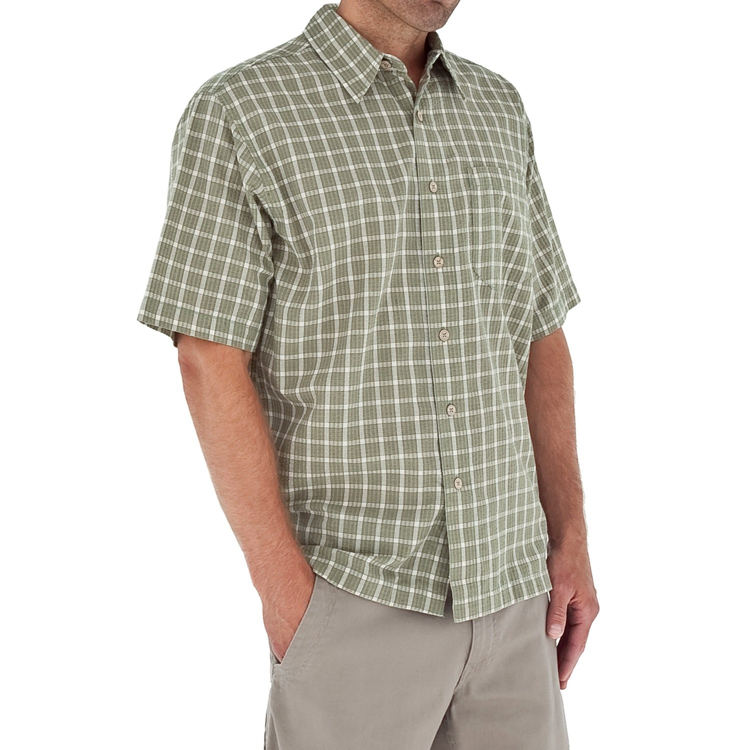 Royal robbins salida seersucker shirt for men 6423t for Mens short sleeve seersucker shirts