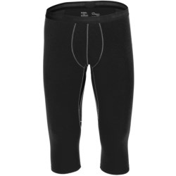 Mammut Warm Quality Base Layer Bottoms - 3/4 Length (For Men)