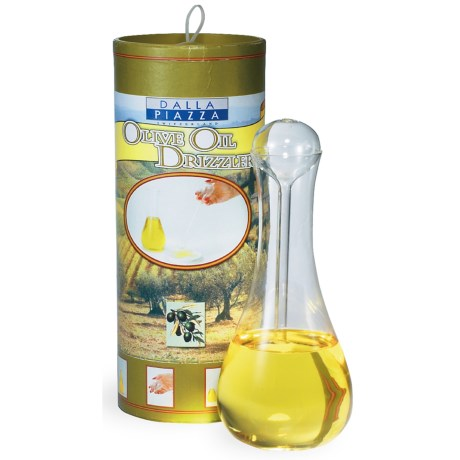 Dalla Piazza Olive Oil Drizzler - Glass