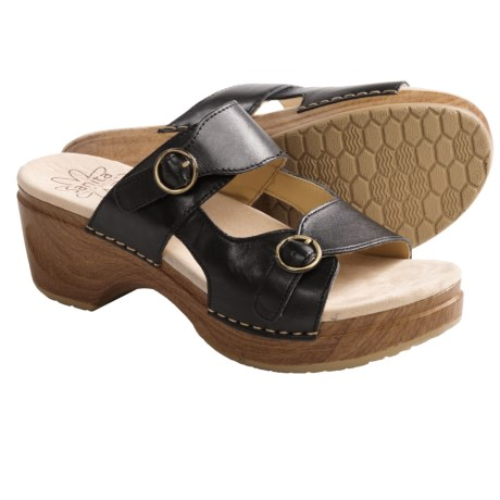 Sanita Deanna Sandals - Polished Leather (For Women)