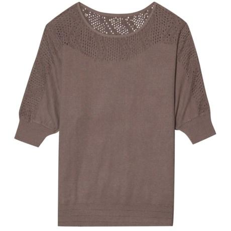 Aventura Clothing Aiden Sweater - Organic Cotton Blend, Elbow Sleeve (For Women)