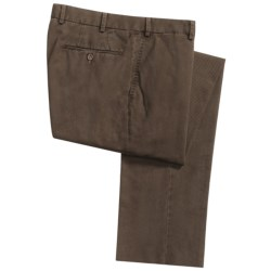 Hiltl Dayne Fade-Out Twill Pants - Stretch Cotton (For Men)
