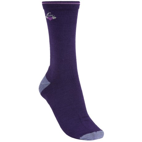 Koi by Goodhew Simplicity Crew Socks - Merino Wool (For Women)