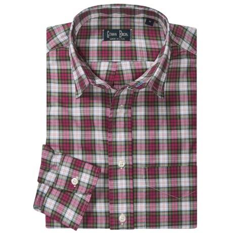 Gitman Brothers Point Collar Sport Shirt - Long Sleeve (For Men)