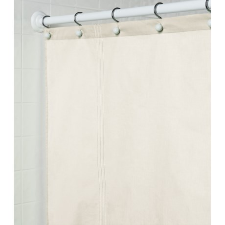 Martha Stewart 200 TC Cotton Sateen Shower Curtain - 72x72""