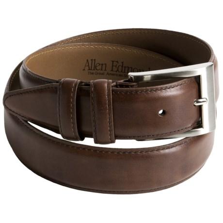 Allen Edmonds Wide Basic Dress Belt - Leather (For Men)