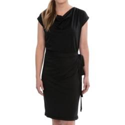 Icebreaker Pizzario Merino Wool Dress - UPF 30+, Cowl Neck, Short Sleeve (For Women)