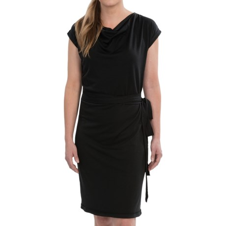Icebreaker Pizzario Merino Wool Dress - UPF 30+, Cowl Neck, Short Sleeve (For Women)