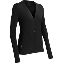 Icebreaker Villa 200 Cardigan Sweater - UPF 30+, Merino Wool (For Women)