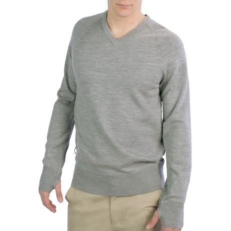 Icebreaker Aries Merino Wool Shirt - V-Neck, Long Sleeve (For Men)