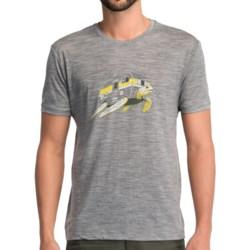 Icebreaker Tech T Lite Turtle T-Shirt - UPF 30+, Merino Wool, Short Sleeve (For Men)