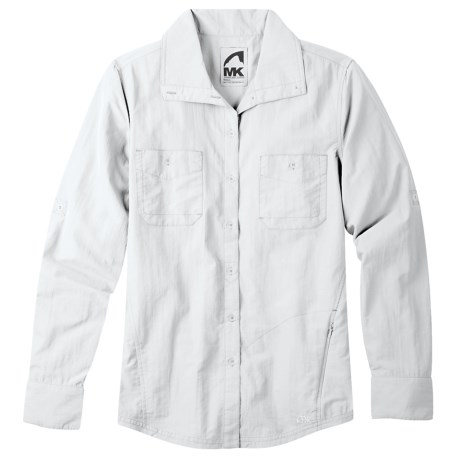 Mountain Khakis Granite Creek Shirt - UPF 50+, Brushed Nylon, Long Sleeve (For Women)
