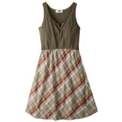 Mountain Khakis Oxbow Dress- Cotton Slub Knit, Sleeveless (Women)