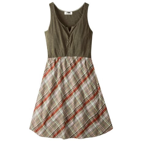 Mountain Khakis Oxbow Dress- Cotton Slub Knit, Sleeveless (Women)