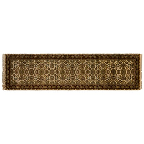Kaleen Heritage Collection Floor Runner - Hand-Knotted Wool, 3x10'