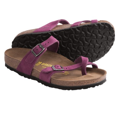 Birkenstock Mayari Sandals - Nubuck (For Women)