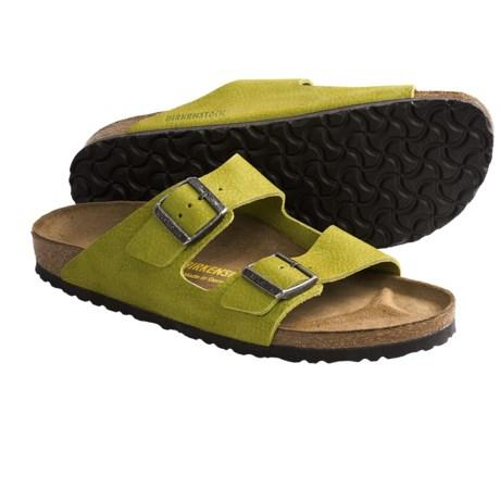Birkenstock Arizona Sandals - Nubuck (For Men and Women)