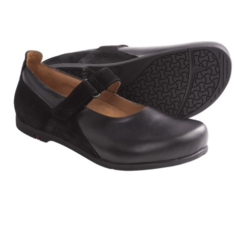 Footprints by Birkenstock Wiesbaden Mary Jane Shoes - Leather (For Women)