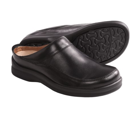 Footprints by Birkenstock Ashby Clogs - Leather (For Women)