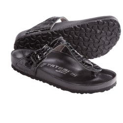 Tatami by Birkenstock Gizeh Croco Sandals - Leather (For Women)