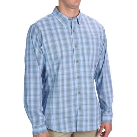 ExOfficio Dryfly Flex Midi Plaid Shirt - UPF 30+, Roll-Up Long Sleeve (For Men)