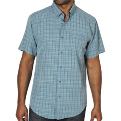 ExOfficio Pisco Micro-Plaid Shirt - Short Sleeve (For Men)