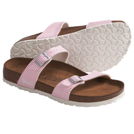 Birki's by Birkenstock Tahiti Soft Sandals - Birko-flor®, Little Check (For Women)