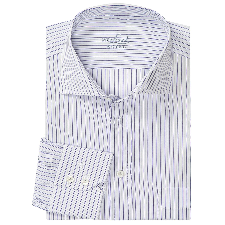 van laack rivara multi stripe shirt for men 6469u save 46. Black Bedroom Furniture Sets. Home Design Ideas