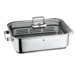 WMF Vitalis Stovetop Steamer Pan - Stainless Steel, 6.8 qt.