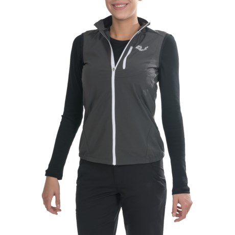 Jack Wolfskin Exhalation Soft Shell Vest (For Women)