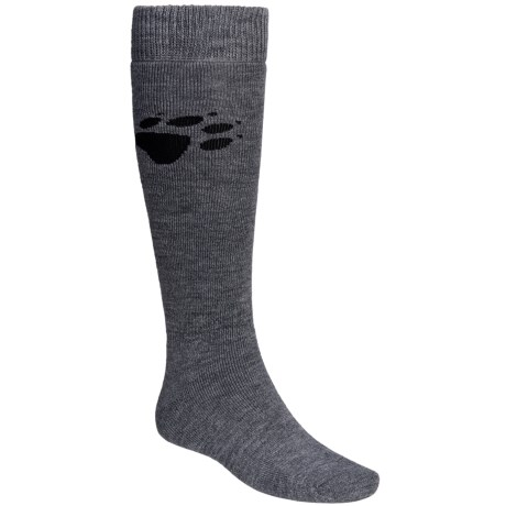 Jack Wolfskin Ski Socks - Merino Wool Blend, Knee-High (For Men and Women)