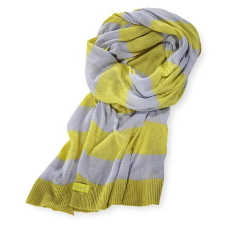 Pistil Rhyme Thin-Knit Scarf (For Women)