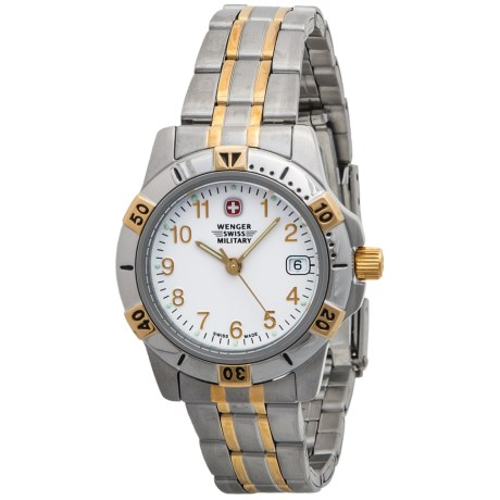 Wenger Swiss Military Two-Tone Watch - Stainless Steel (For Women)