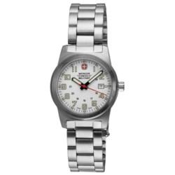 Wenger Classic Field Sport Watch - Stainless Steel Bracelet (For Women)