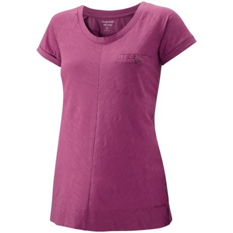 Craghoppers Amelie Shirt - UPF 30+, Scoop Neck, Short Sleeve (For Women)