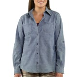 Carhartt Linwood Chambray Shirt - Long Sleeve (For Women)