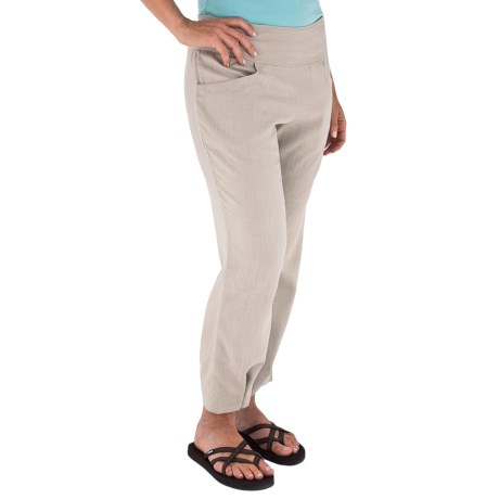 Royal Robbins Coco Crop Pants - Linen Blend (For Women)