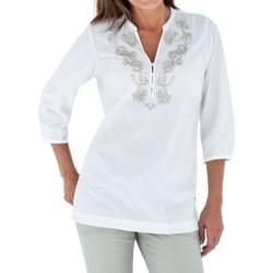 Royal Robbins The Artisan Shirt - 3/4 Sleeve (For Women)