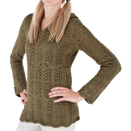 Royal Robbins Elena Hoodie Sweater - V-Neck (For Women)