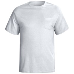 Hanes 5.2 oz. Jersey Knit T-Shirt - Pocket, Short Sleeve (For Men and Women)