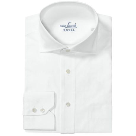 Van Laack Rivara Cotton Sport Shirt - Long Sleeve (For Men)