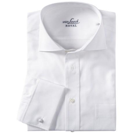 Van Laack Rivara Shirt - Regular Fit, French Cuffs, Long Sleeve (For Men)