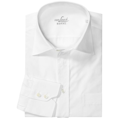 Van Laack Rigo Cotton Shirt - Long Sleeve (For Men)